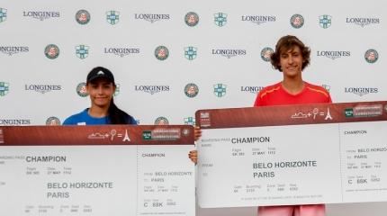 Reyes e Melilo faturam Roland-Garros Junior Wild Card e vão a Paris