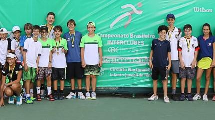 Definidos os primeiros campeões da 2ª Copa Bahiano de Tênis