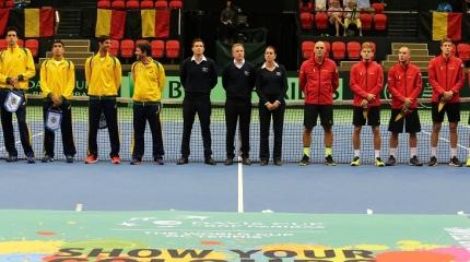 Definida equipe da Bélgica para enfrentar o Brasil pelo playoff da Davis