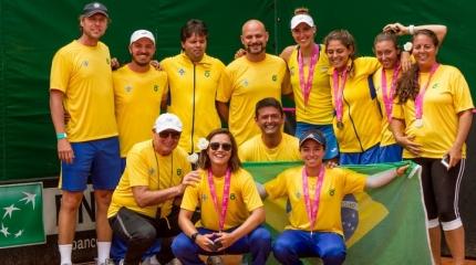 Time Brasil vence revanche contra Paraguai e conquista Zonal da Fed Cup