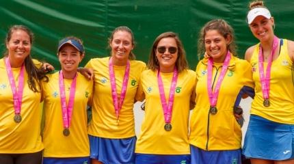 Time Brasil enfrentará a Eslováquia, pelo playoff da Fed Cup
