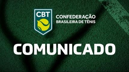 CBT suspende calendário de competições até 15 de maio
