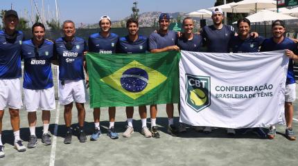 Time Brasil BRB vence o Líbano por 4 a 0 pela Copa Davis