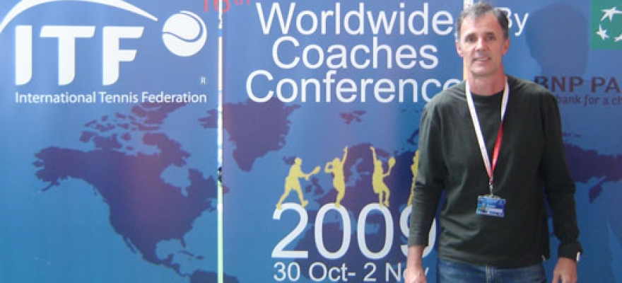 Cesar Kist assume segundo mandato consecutivo na Comissão de Treinadores da ITF