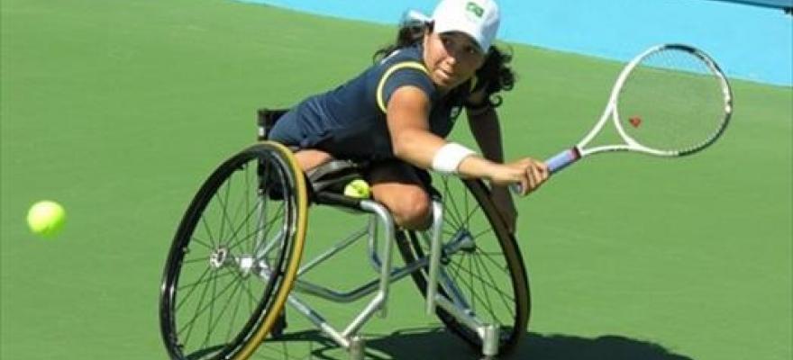 Mayara conquista Aberto do Chile de Cadeiras de Rodas