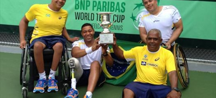 Brasil classifica para o Mundial por Equipes na Holanda