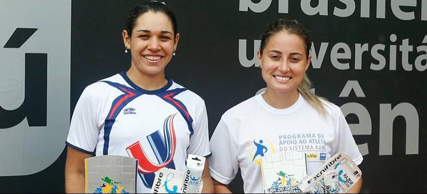 Nathalia Rossi e Gustavo Andrade conquistam o Brasileiro Universitário