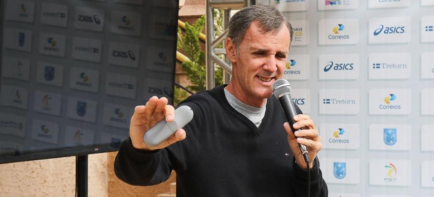 Cesar Kist apresentou palestra durante o Tennis Kids em Porto Alegre