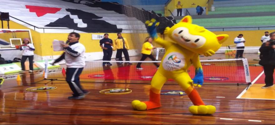 Programa Jogue Tênis nas Escolas na Rio 2016