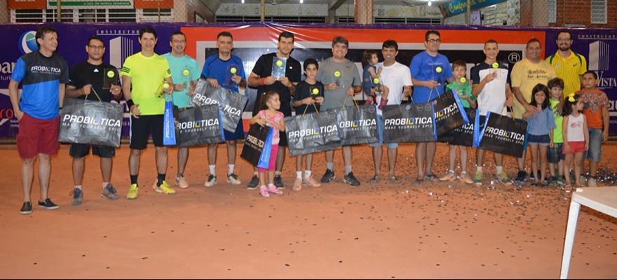 Circuito Piauiense de Tênis conhece campeões da terceira etapa