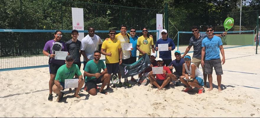 CBT conclui curso de capacitação Módulo 1 de Beach Tennis