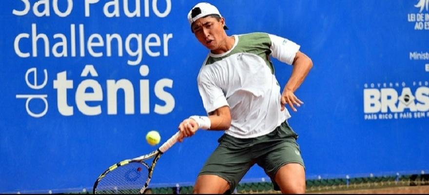 Pedro Sakamoto é vice-campeão no Future de Antalya