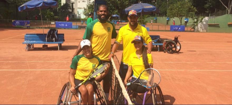 Brasil já garantiu três finais nos jogos Parapan-Americanos de Jovens
