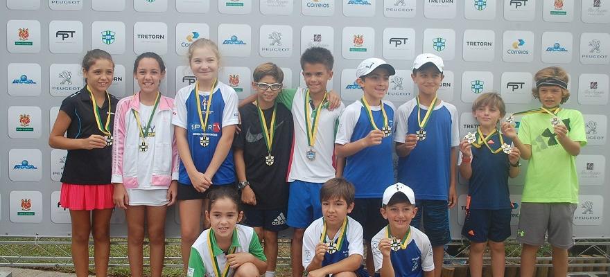 Circuito Nacional define campeões do Tênis Kids em Curitiba