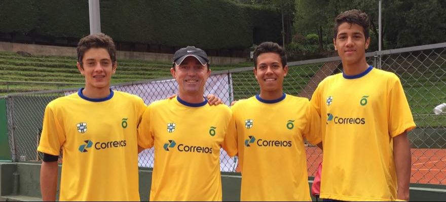 Time Correios Brasil inicia o Sul-Americano em Bogotá