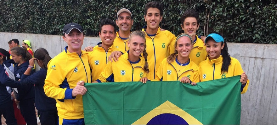 Brasil segue invicto no Sul-Americano por equipes com equipe masculina