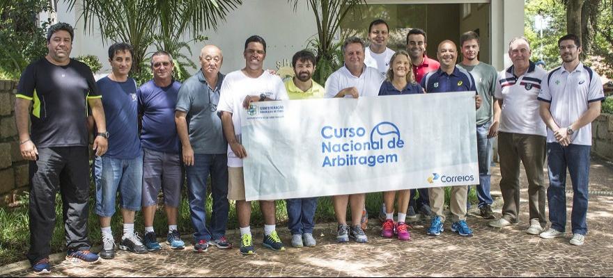 Departamento de Arbitragem da CBT realizará workshop em Fortaleza