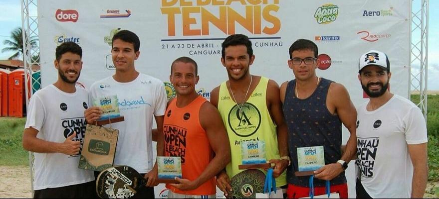 Cunha Open conhece os campeões em Canguaretama
