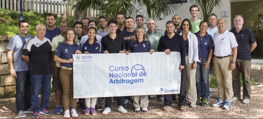 Departamento de Arbitragem realiza Curso Nacional em São Carlos/SP