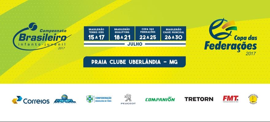 Campeonato Brasileiro Infantojuvenil inicia neste sábado em Uberlândia