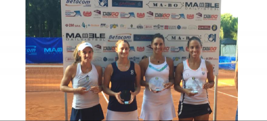 Paula Gonçalves e Luisa Stefani conquistam títulos da ITF na Europa