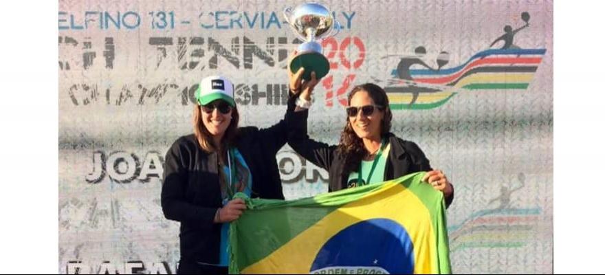 Brasileiros disputam o Mundial individual de Beach Tennis