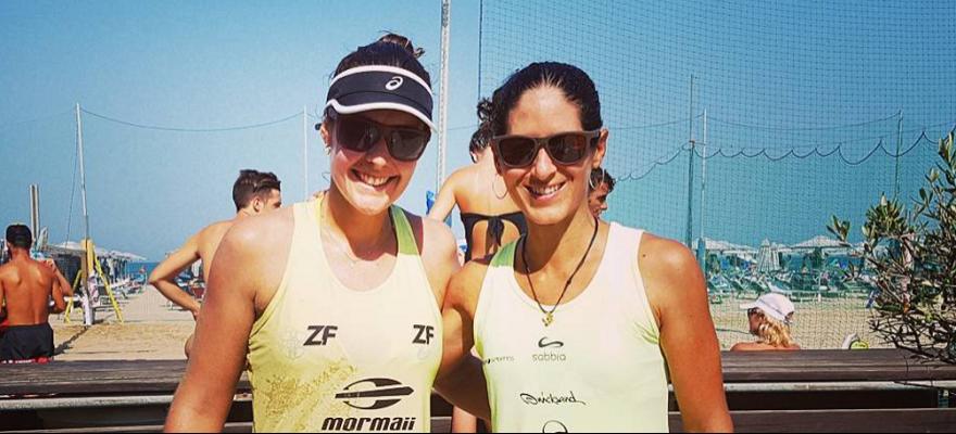 Brasileiros estão nas quartas no Mundial de beach Tennis