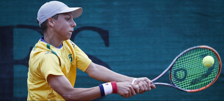 Brasil vence e se classifica para as quartas no World Junior Tennis Cup