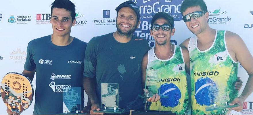 Definidos os campeões do ITF 2.500 Serra Grande, em Fortaleza