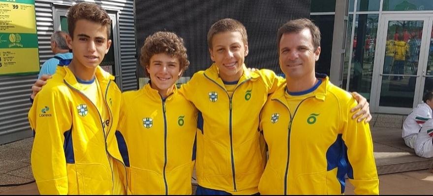 Time Correios Brasil termina o Mundial de 14 anos em 6º lugar