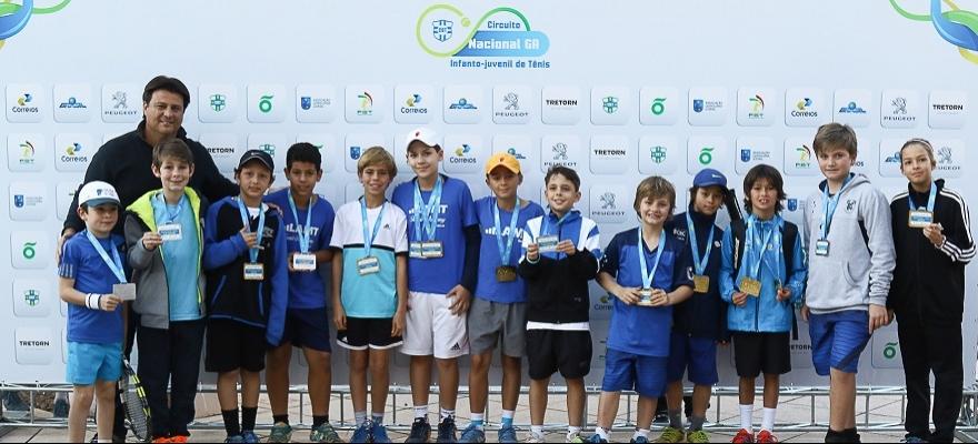 Tennis Kids conhece os campeões no Circuito Nacional, em Porto Alegre
