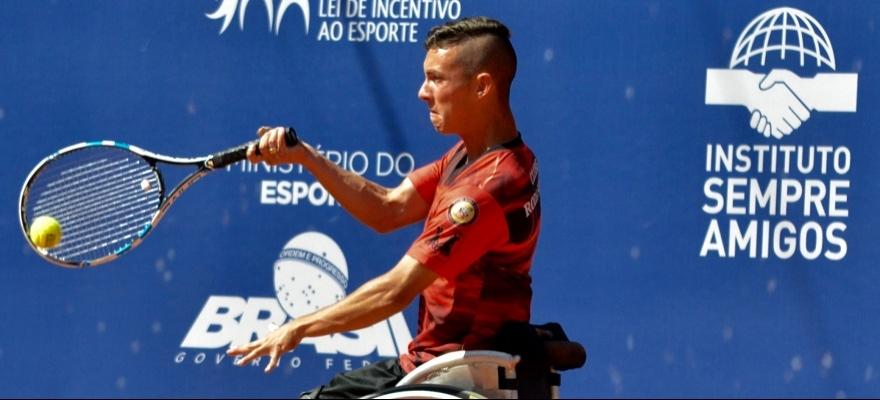 Melhores do Brasil decidem título do Circuito ITF para Cadeirantes