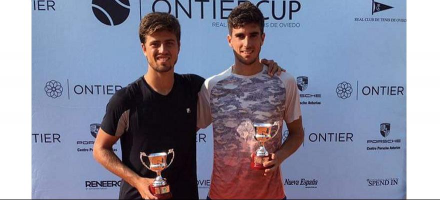 João Menezes é campeão de duplas e finalista em Oviedo, na Espanha