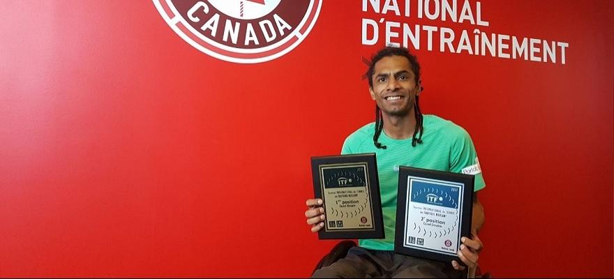 Ymanitu Silva conquista o título do Tennis Canada International