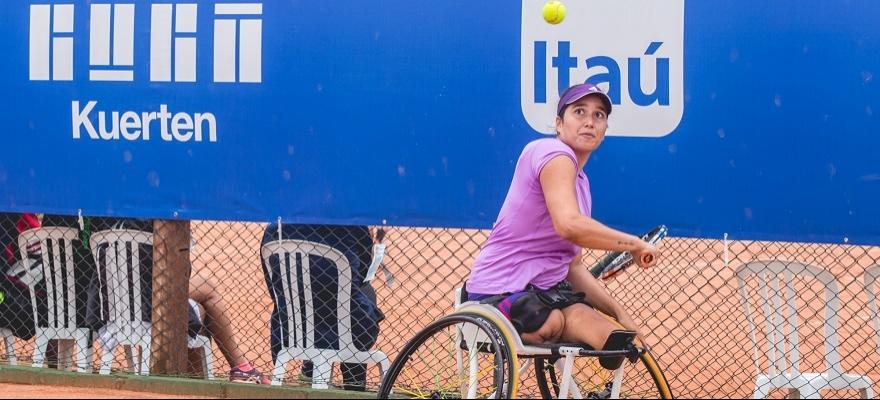 Natália rumo ao hexa na Copa Guga Kuerten cadeira de rodas