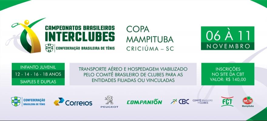 Inscrições do Interclubes de Criciúma encerram nesta terça-feira