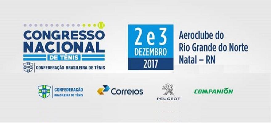 Valor promocional do Congresso Nacional de Tênis acaba nesta terça-feira