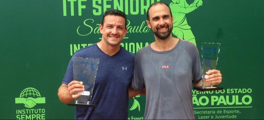 Definidos todos os campeões do ITF Seniors São Paulo