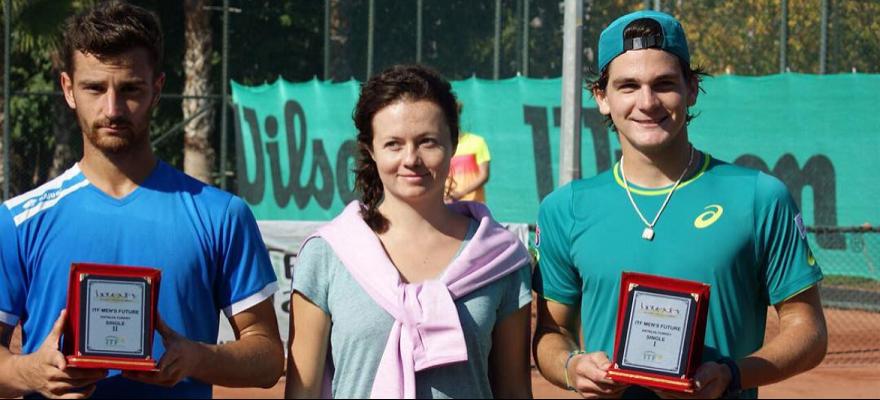 Thiago Wild brilha e fatura, em Antalya, na Turquia, seu 1º título