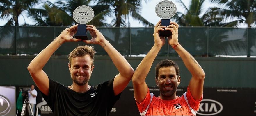 Fabricio Neis é campeão de duplas no Challenger do Rio