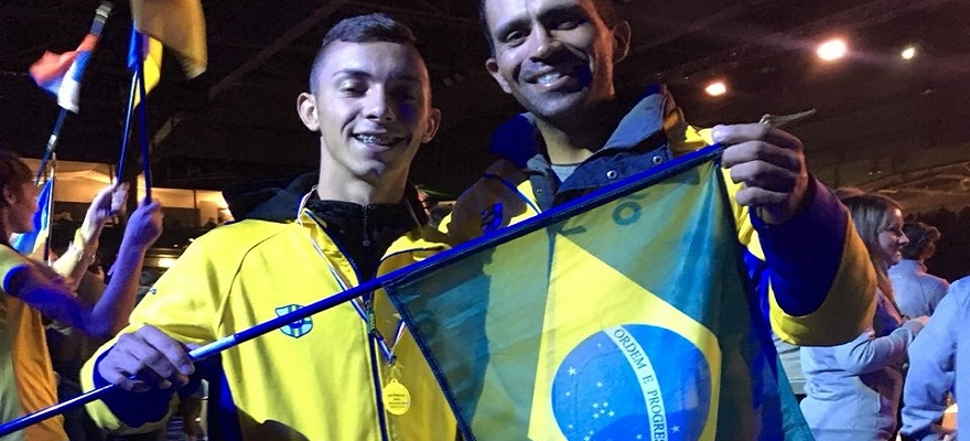 Jucélio Torquato estreia na Masters Cup Juvenil de Cadeira de Rodas