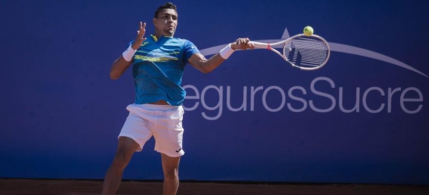 Thiago Monteiro avança e encara Monfils nas quartas do ATP de Quito