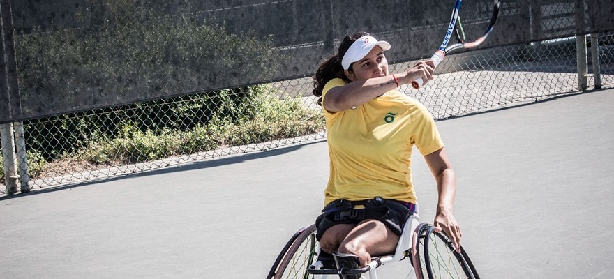 Brasileira Natalia Mayara está nas quartas no Georgia Open