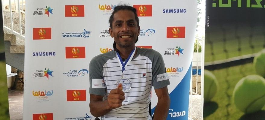 Em semana perfeita, Ymanitu Silva é campeão de simples do Israel Open