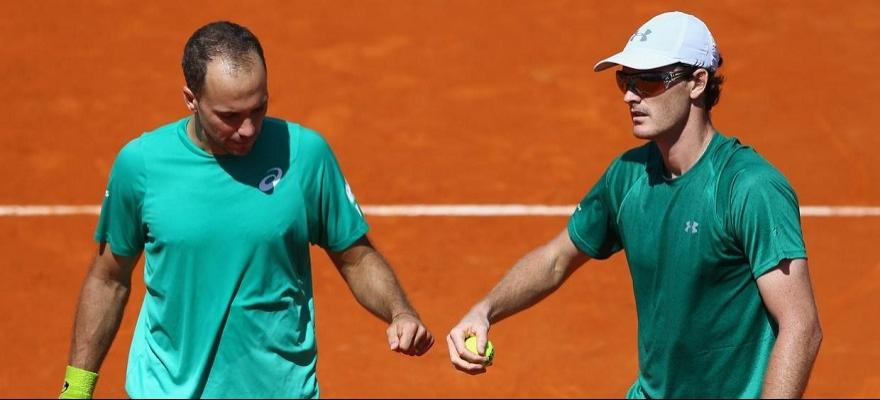 Soares e Murray vencem em estreia do Masters 1000 de Roma