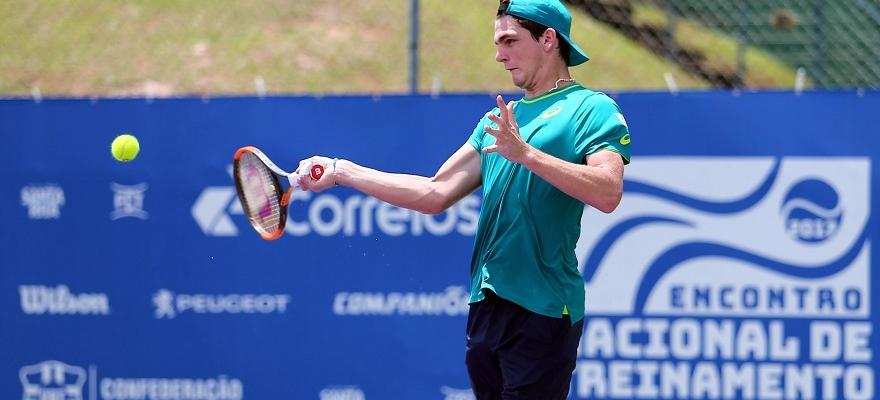 Em alta, tenistas da nova geração destacam importância de apoio da CBT