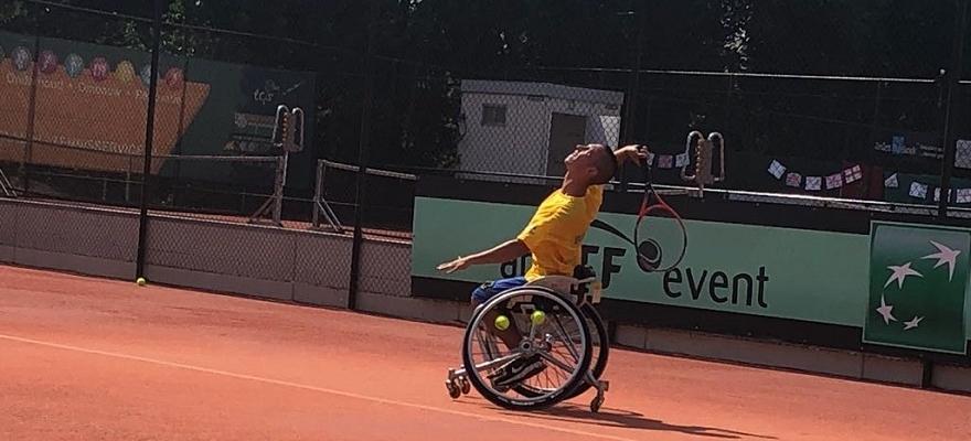 Time júnior se classifica em 1º no Mundial de Tênis em Cadeira de Rodas