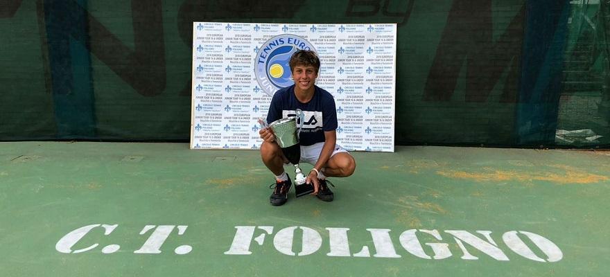 Boscardin começa gira europeia com pé direito e é campeão na Itália