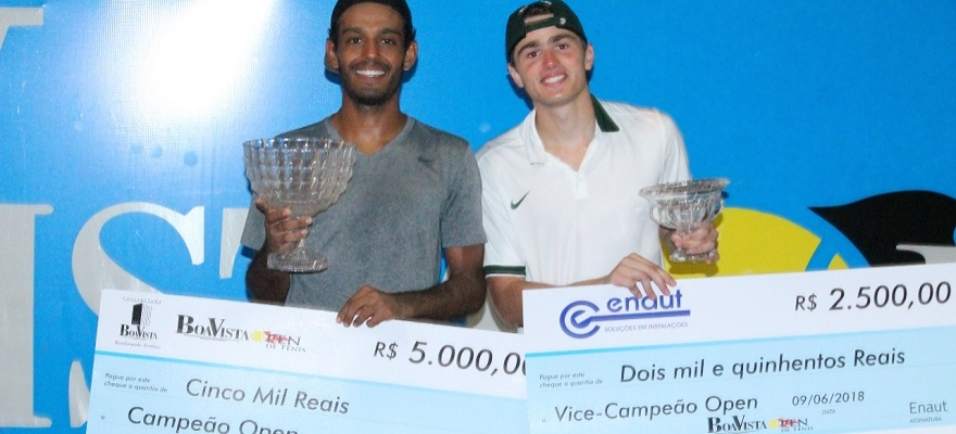 Baiano vence Boa Vista Open de Tênis em Teresina