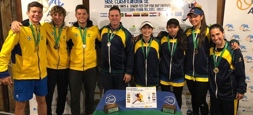 Time Correios Brasil conquista vaga para Mundial 16 anos nos dois naipes